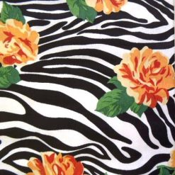 zebra-rose-yellow-print-cotton-fabric