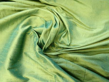 silk dupion parrot