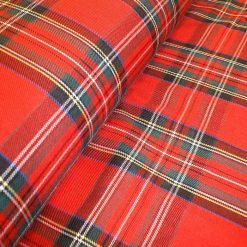 Tartan Patterned Fabric