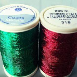 200m Metallic Threads