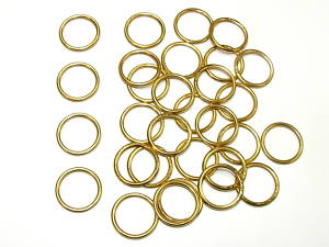 19mm Brass Curtain Rings