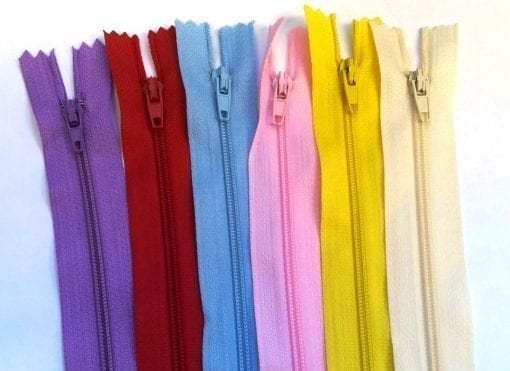 4 Inch Plain Dress Zips