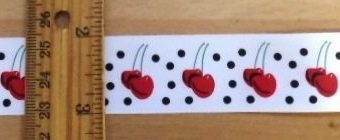 Red Cherry Ribbon