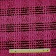 Magenta Polyester Wool Simba Pride Jacketing Fabric