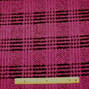 Magenta Polyester Wool Simba Pride Jacketing Fabric
