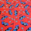 Red Grand Prix cotton fabric