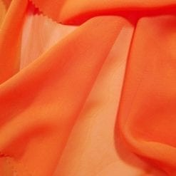 orange chiffon