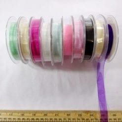 15mm organza ribbon