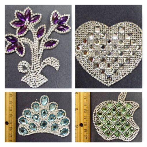 Diamante Motif Collage