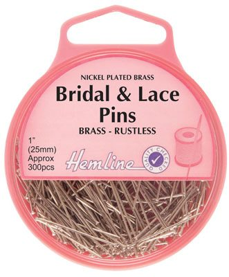 bridal and lace pins