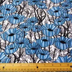 Katie-Kandles-princess-poppy-Print-Cotton-Fabric