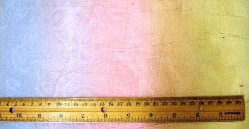 Organdie 100% Polyester Rainbow Texture