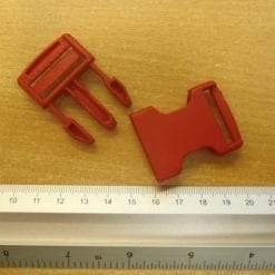 Bum Bag Clips Medium red