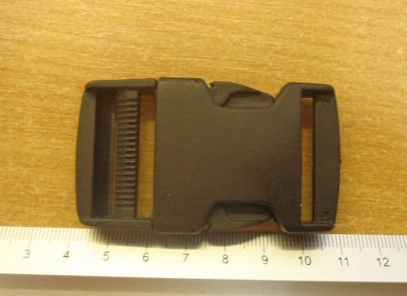bum bag clips large black