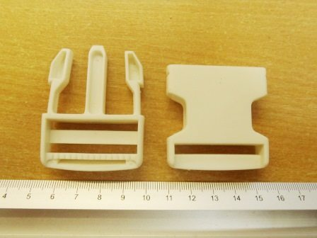 bum bag clips large white