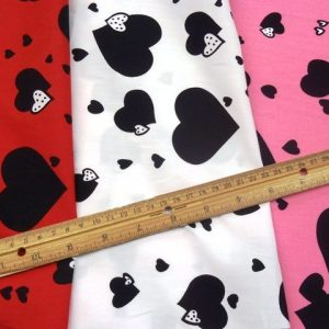 Heart Attack Cotton Fabric