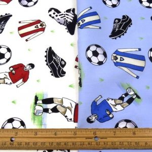 Premier Football Cotton Fabric