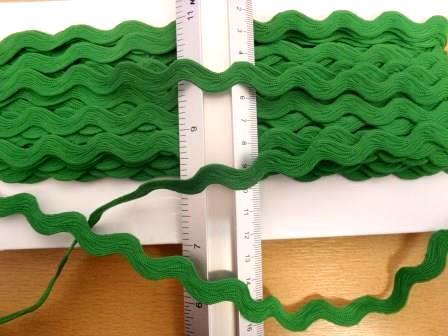 Jumbo ric rac emerald
