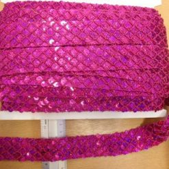 3cm Metallic Braided Trim Code 721-4