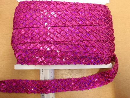 3cm Metallic Braided Trim Code 721-4