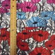 Floral Princess Poppy Cotton Fabric