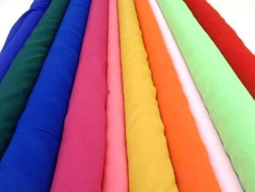 Plain Polyester Chiffon Fabric