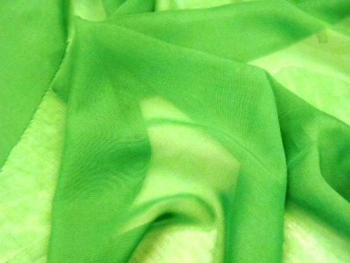 emerald chiffon