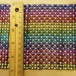 Rainbow Diamante Belting Code NAT22