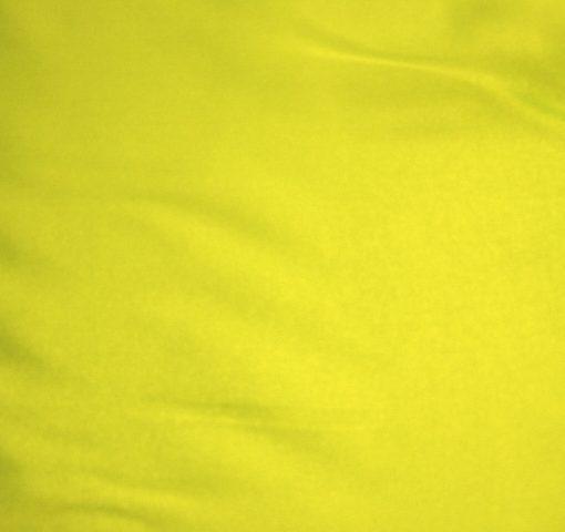 Satin Habutae Fluorescent Yellow
