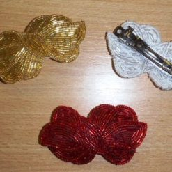 Sequin Motif Bows