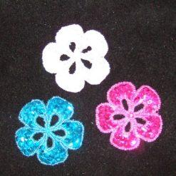 Sequin Motifs Flowers