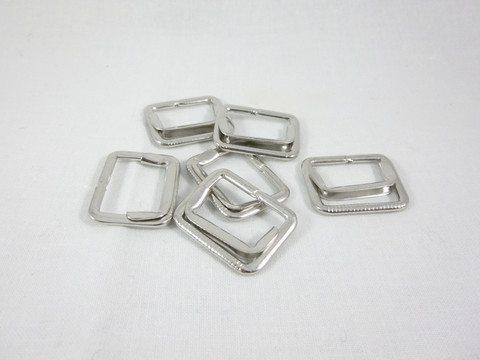 silver waistcoat buckles