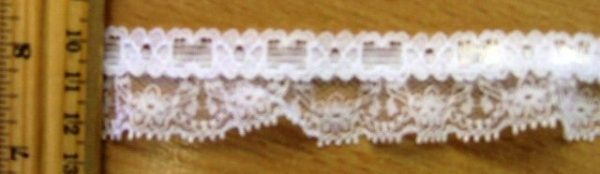 Gathered Lace Verona Trimming