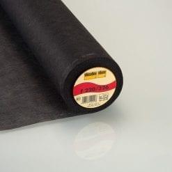 Black Medium Weight Iron On Interfacing Code 226