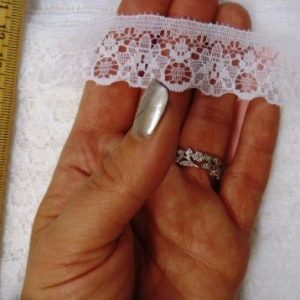 Flat Lace Algarve 2.5cm Lace Trimming