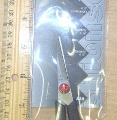 """Bexfield Cushion Soft Scissors 4 1/2"""" Embroidery"""