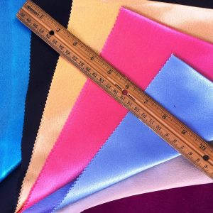 Satin Fabric Crepe Backed Polyester