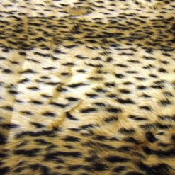 cheetah faux fur