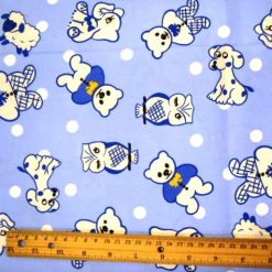 doggy-owls-blue-childrens-cotton-print