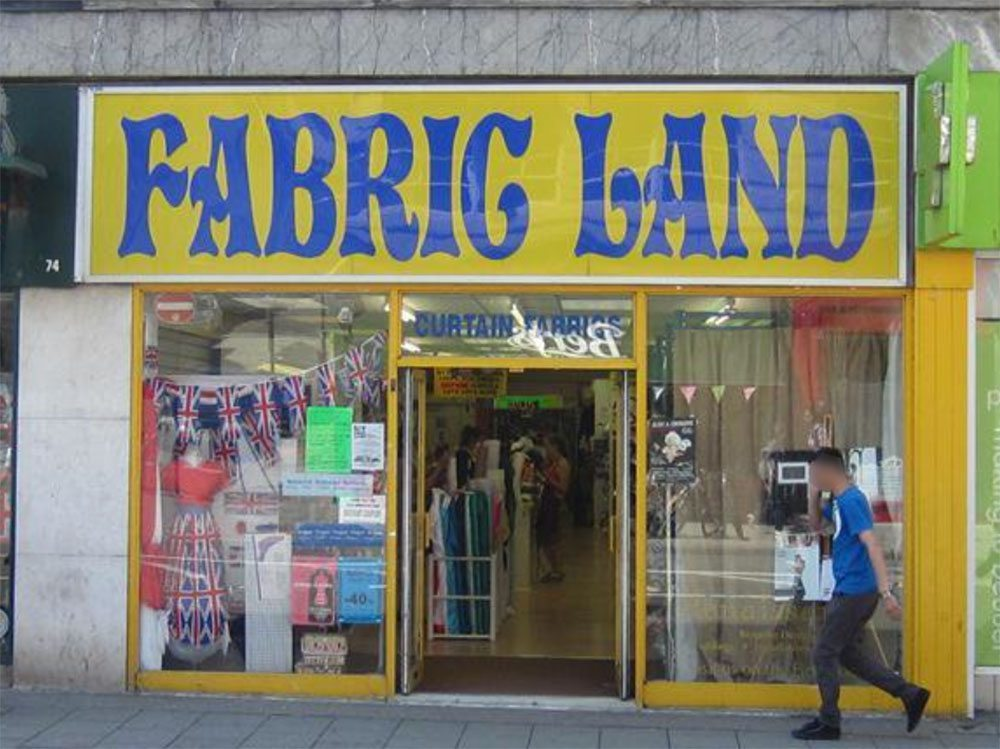 fabric land brighton