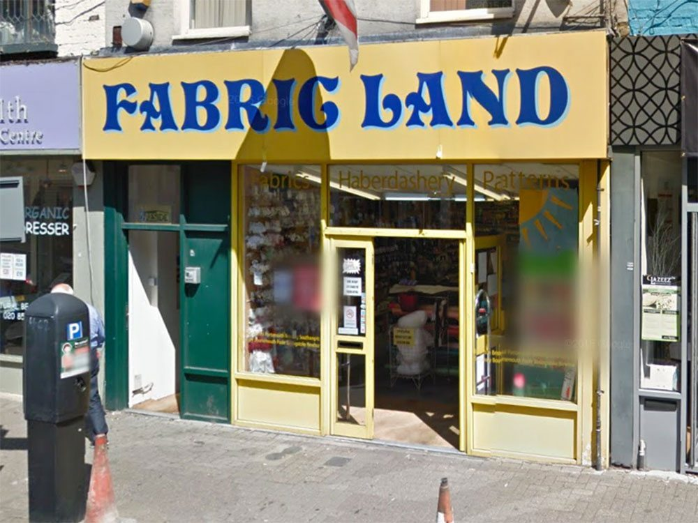 fabric land kingston-upon-thames