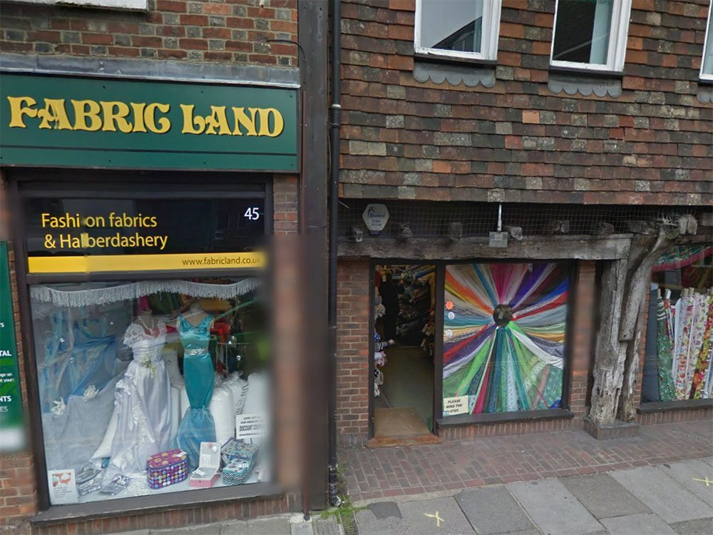 fabric land salisbury