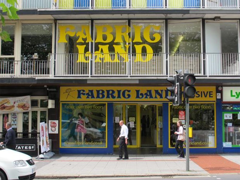 fabric land southampton