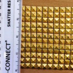 gold pyamid