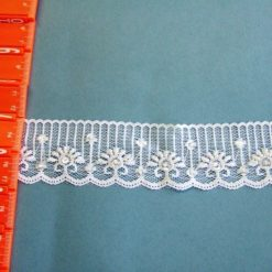 "2"" Sequined Beaded Lace F25/GH196-7D"