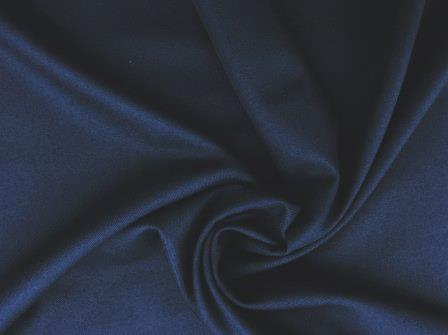 navy poly viscose suiting
