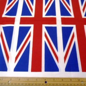 Union Jack Cotton Fabric