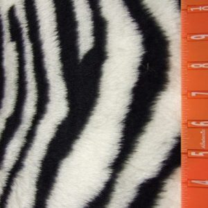 Zebra Faux Fur Animal Fabric