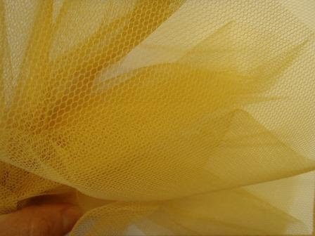 gold dress net