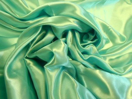 mint chinese satin